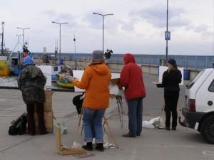 Plener malarski Rewa, Hel, Kniewo 2009
